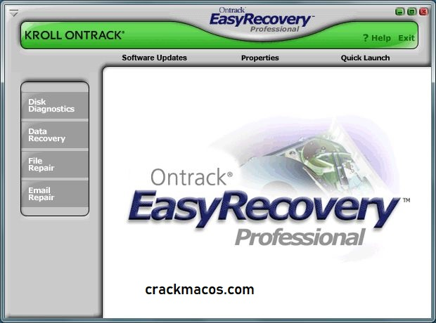 Ontrack EasyRecovery Professional Serial Key